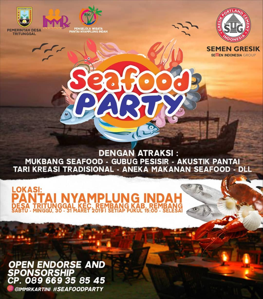 Event Rembang - Seafood Party