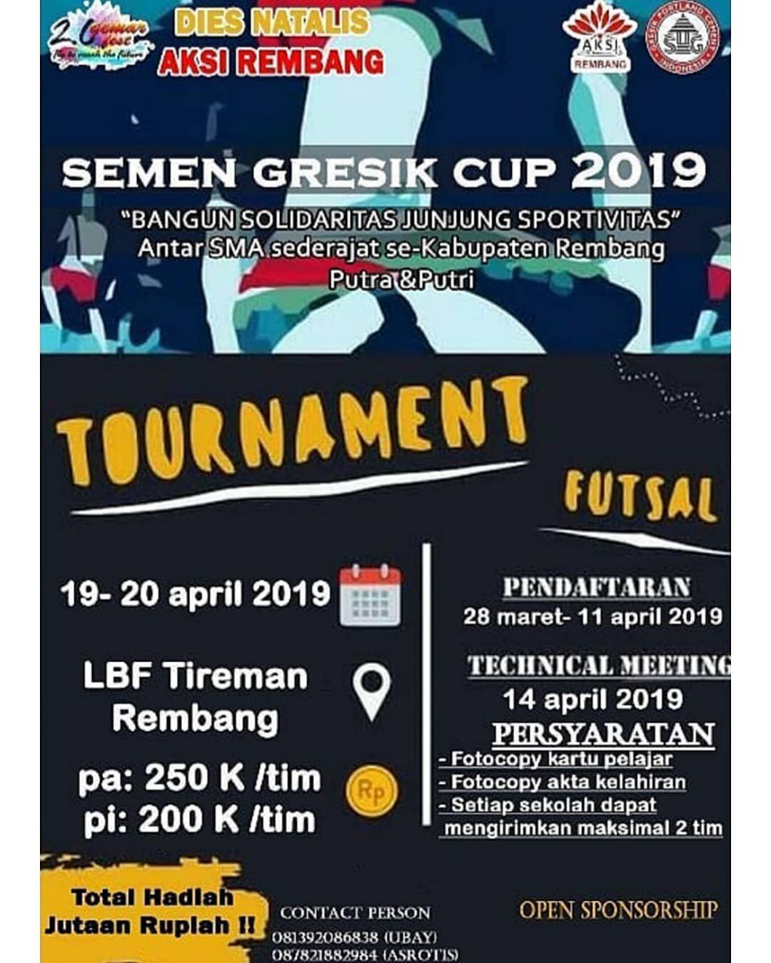 EVENT REMBANG - SEMEN GRESIK CUP 2019