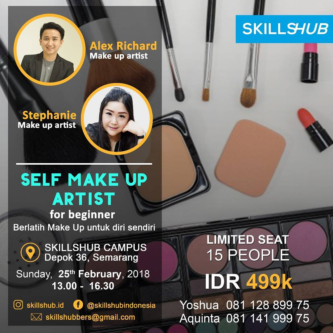 EVENT SELF MAKE UP CLASS SEMARANG