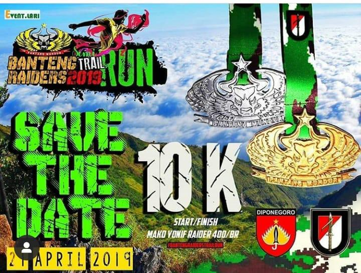 Event Semarang - Banteng Raiders, Trail Run