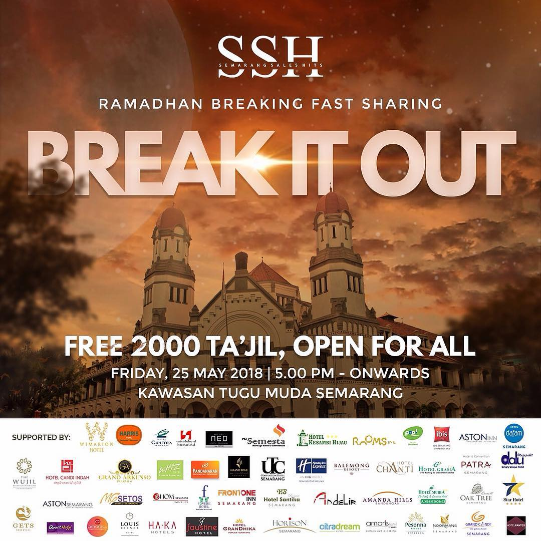 EVENT SEMARANG - BREAK IT OUT FREE 2000 TAKJIL FOR ALL