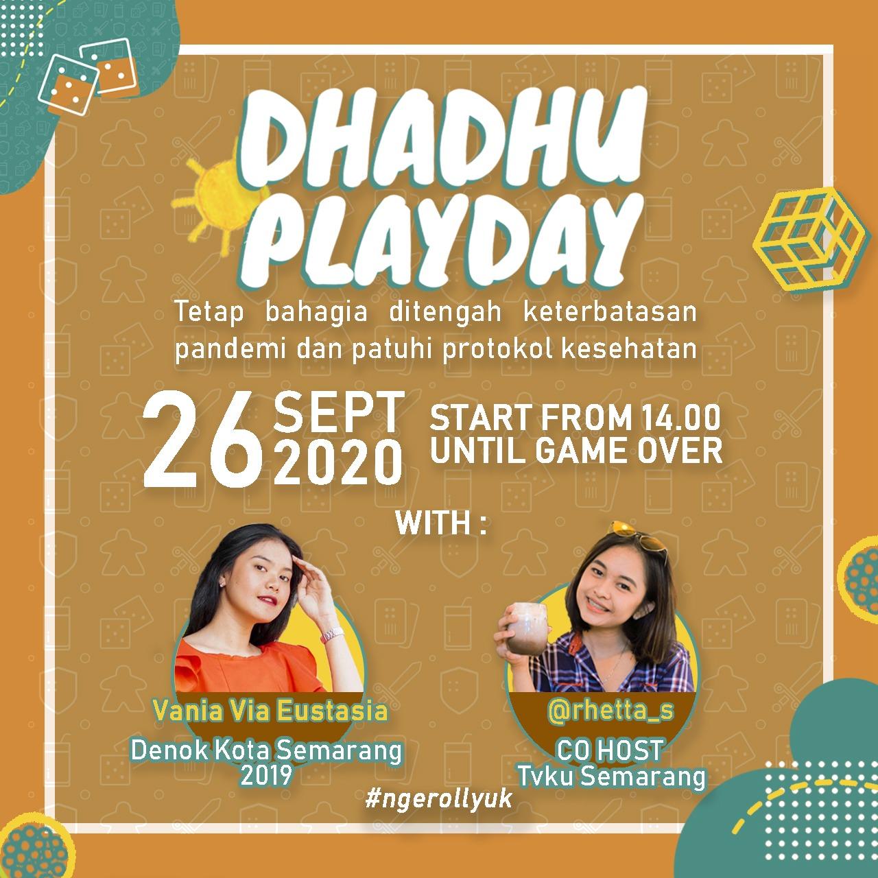 EVENT SEMARANG : DHADHU PLAYDAY