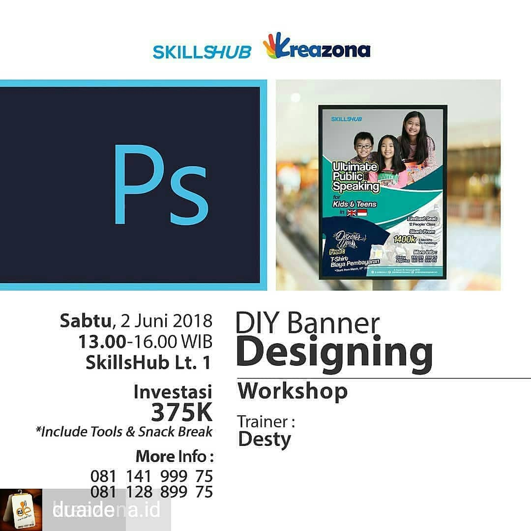 Event Semarang - Diy Banner Designing Workshop