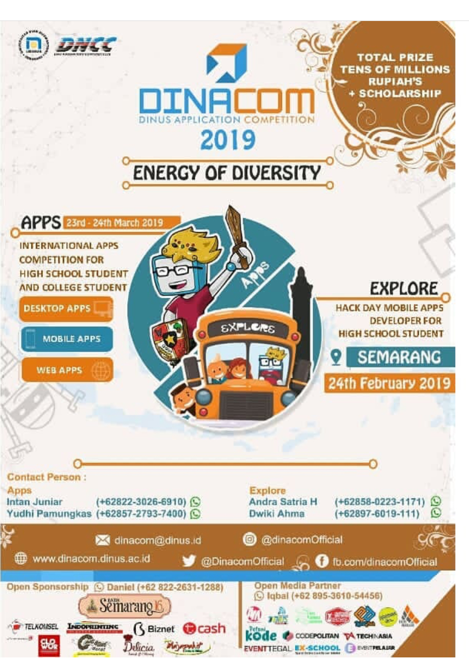 Event Semarang - Dinus Application Competition