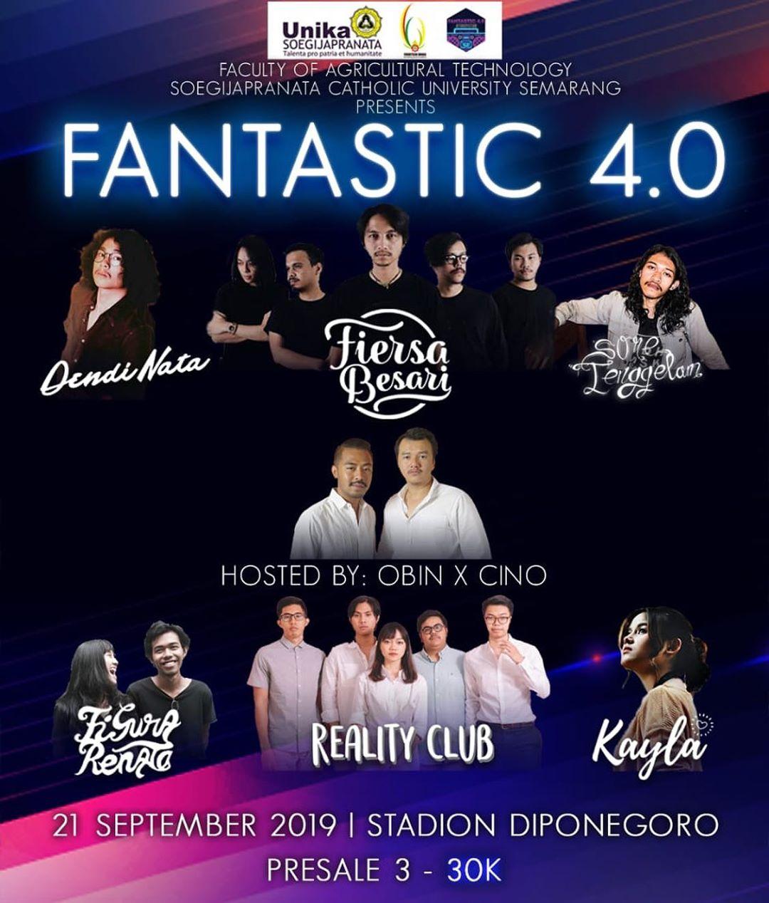 Event Semarang : Fantastic 4.0