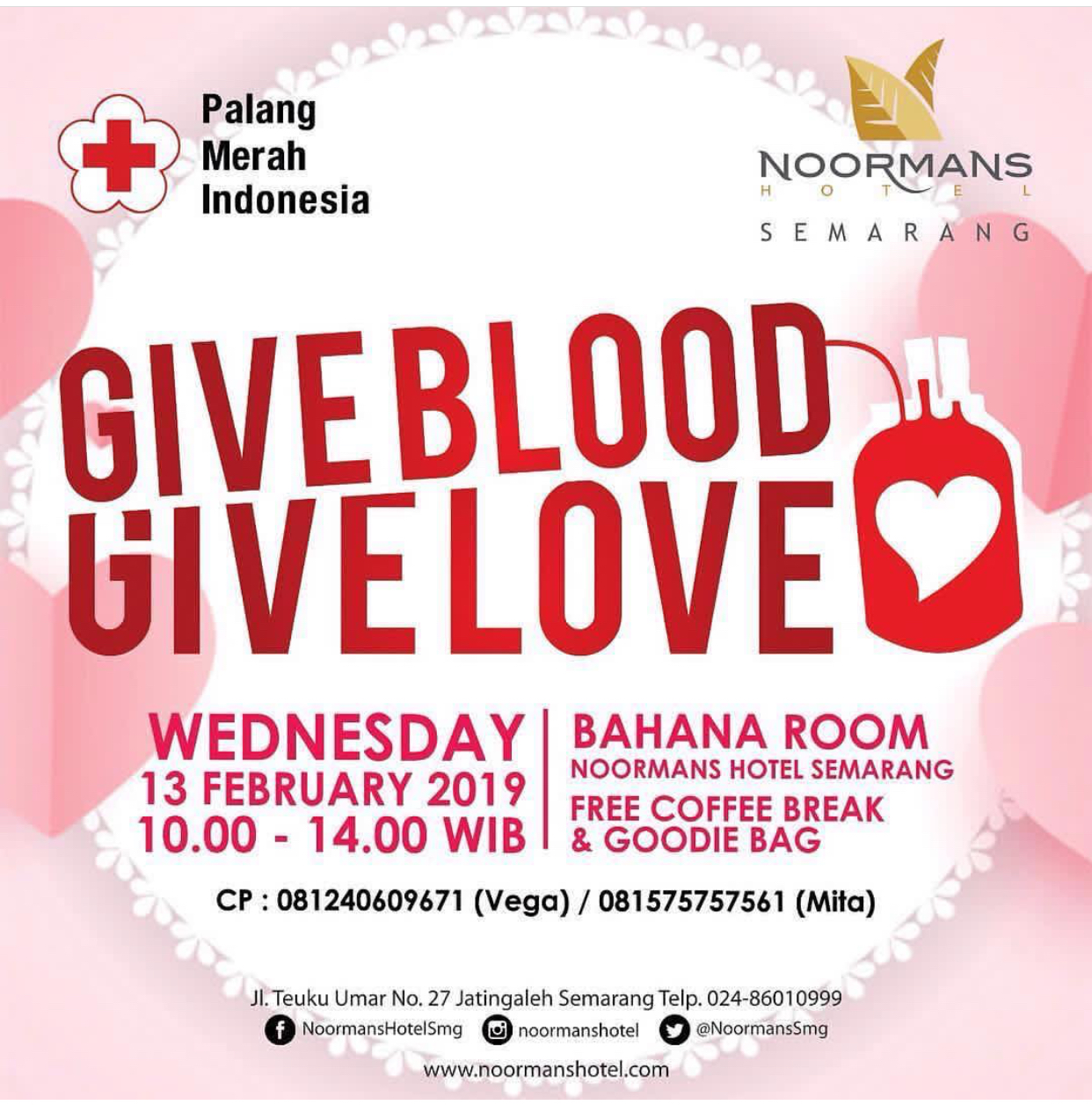 EVENT SEMARANG - GIVE BLOOD, GIVE LOVE