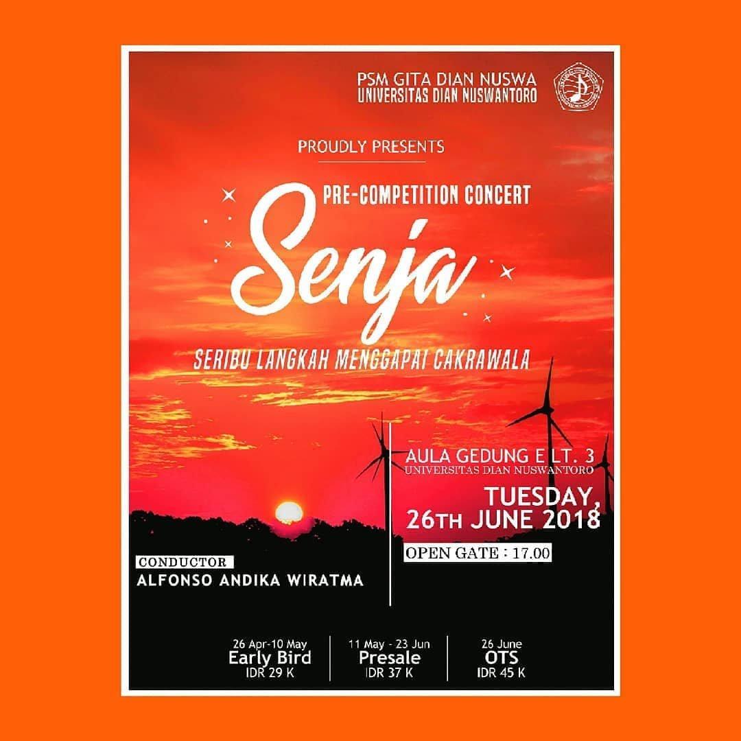Event Semarang - Konser Pra Kompetisi  Senja