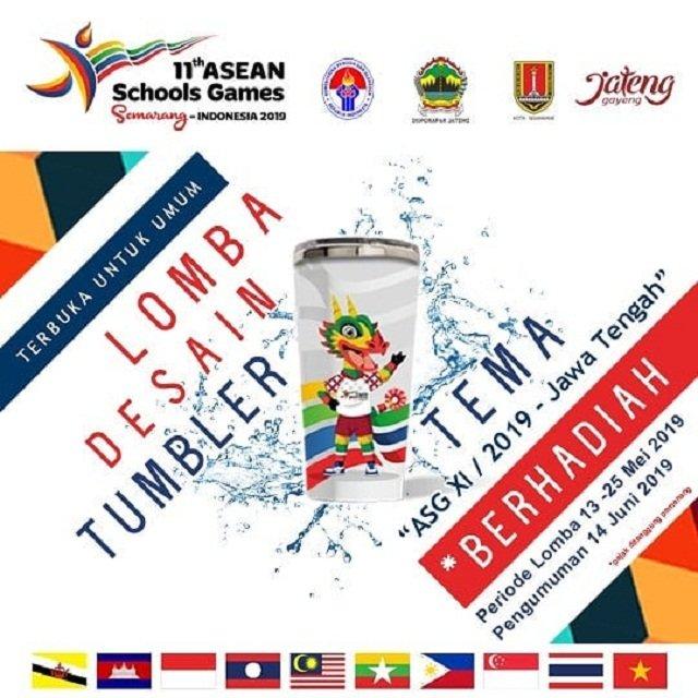 EVENT SEMARANG : LOMBA DESAIN TUMBLER ASEAN SCHOOL GAMES 2019