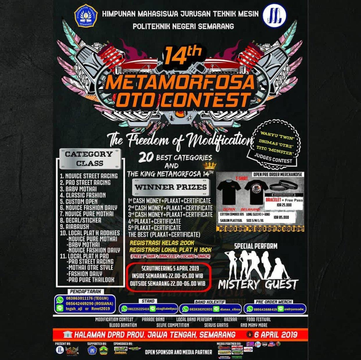 Event Semarang - Memorfosa Oto Contest 14th