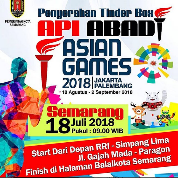 EVENT SEMARANG - PENYERAHAN TINDER BOX API ABADI ASIAN GAMES