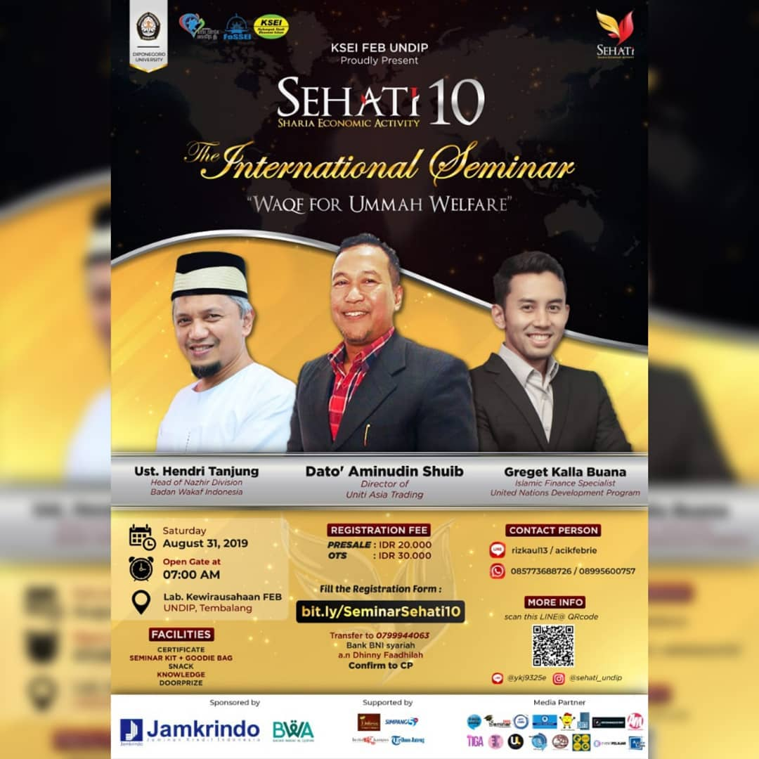Event Semarang : Sehati 10 International Seminar