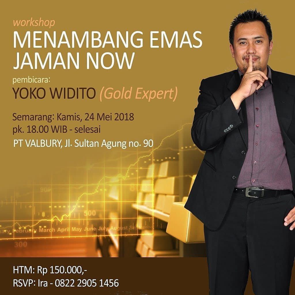 "Event Semarang - Seminar ""menambang Emas Jaman Now"""