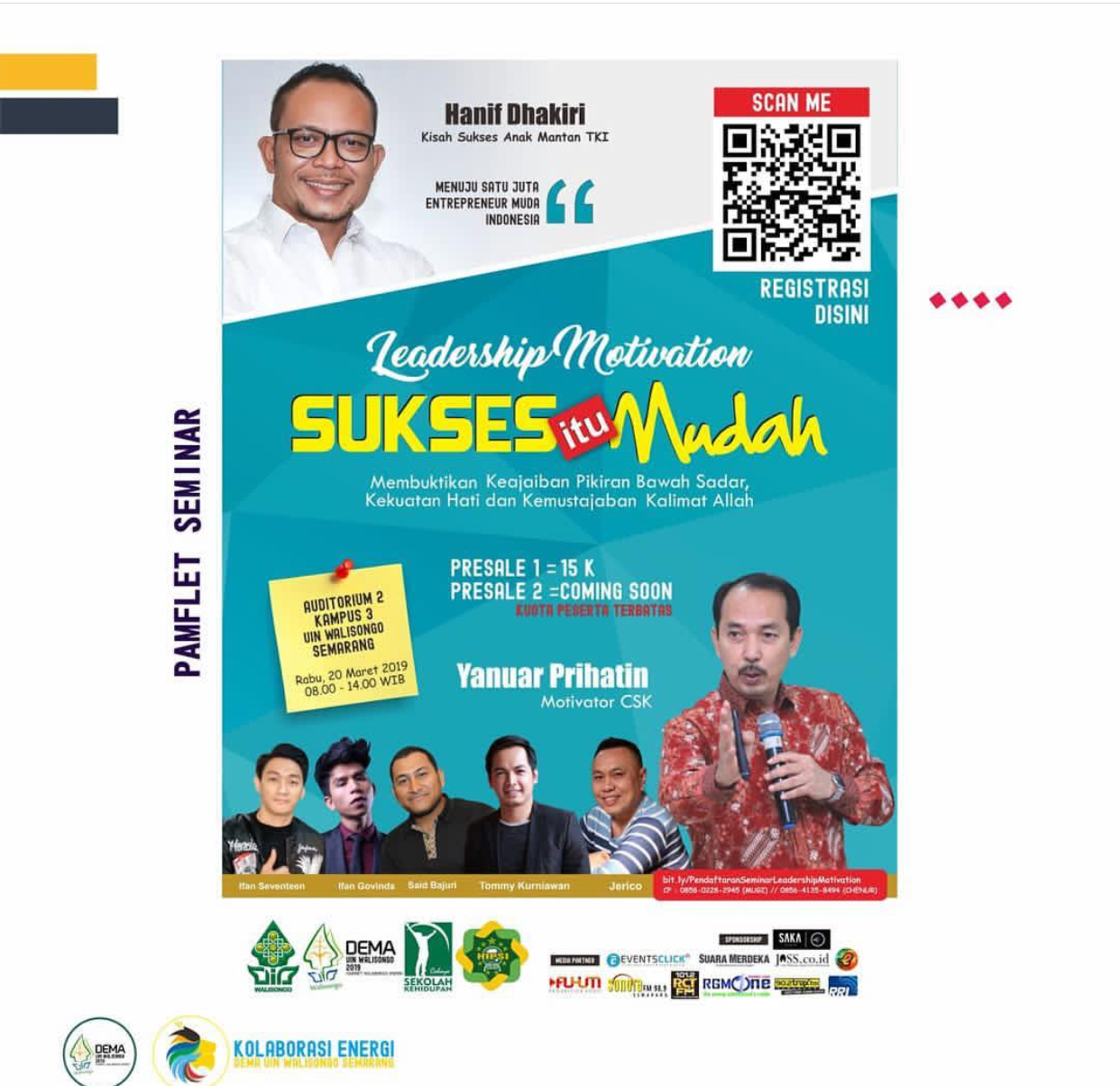 Event Semarang - Seminar Leadership Motivation Uin Walisongo 2019