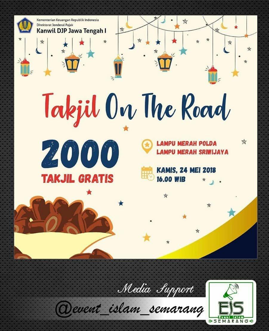 EVENT SEMARANG - TAKJIL ON THE ROAD 2000 TAKJIL GRATIS