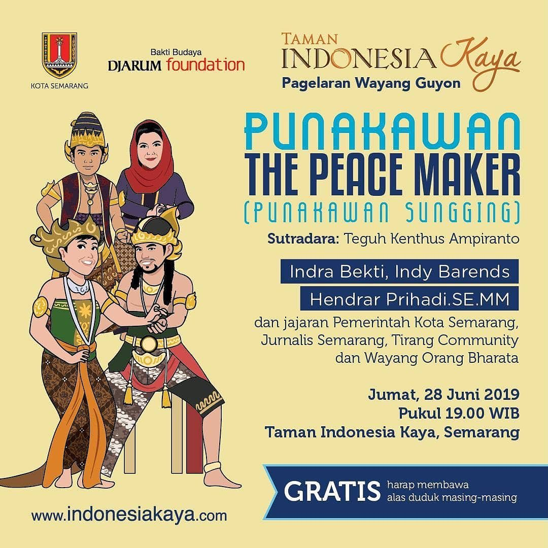 Event Semarang : The Peace Maker