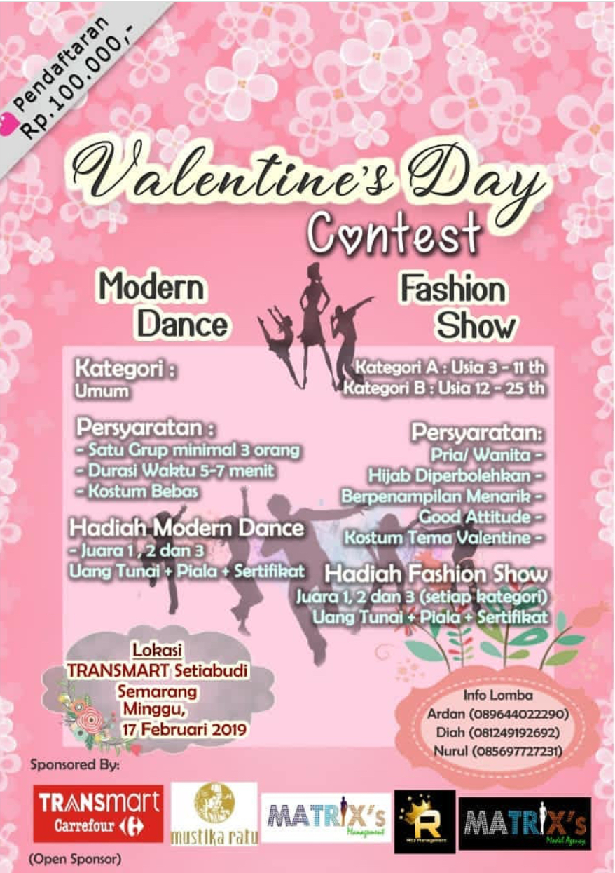 Event Semarang - Valentines Day Fashion Contest