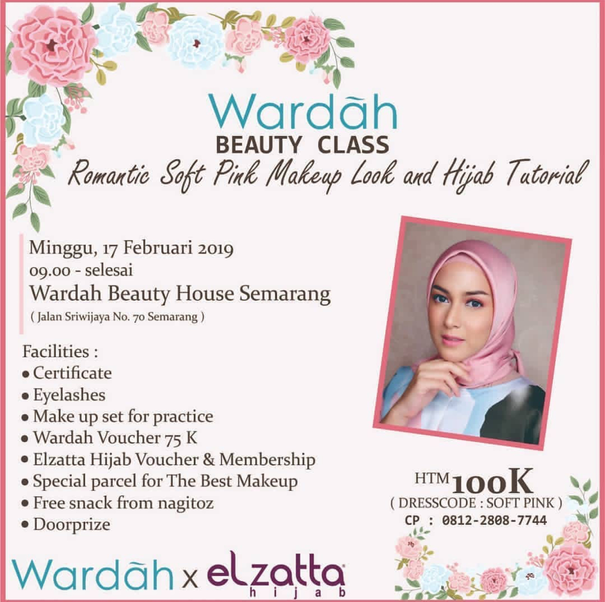 Event Semarang - Wardah Beauty Class