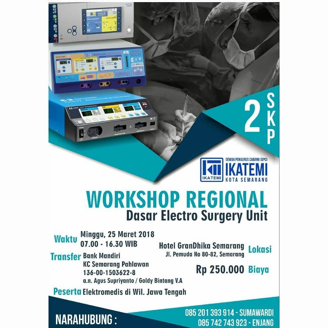 Event Semarang- Workshop Regional Ikatemi