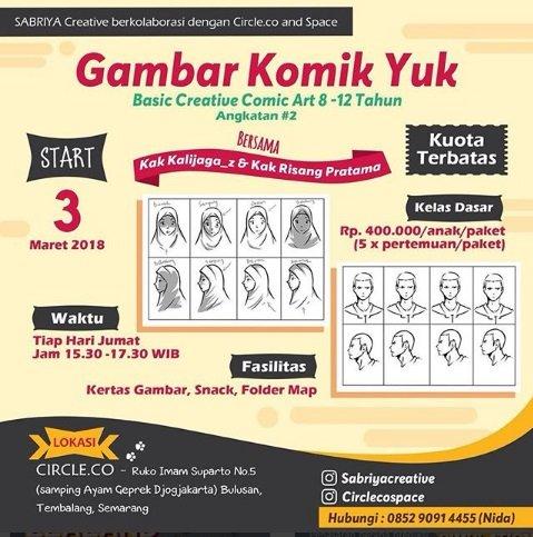 Event Semarang Kelas Menggambar Komik