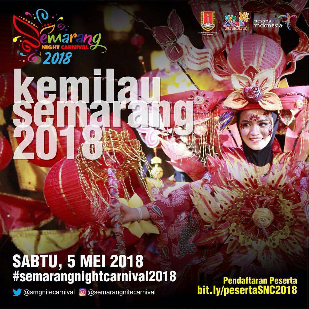 EVENT SEMARANG NIGHT CARNIVAL 2018
