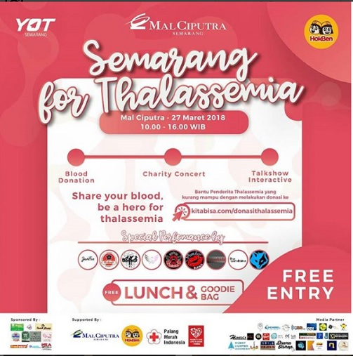 Event Semarang For Thalassemia