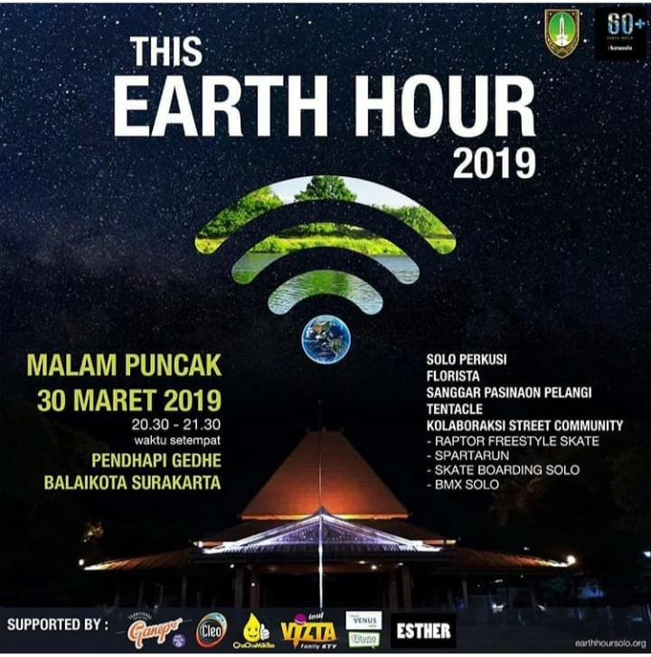 EVENT SOLO -  THIS EARTH HOUR