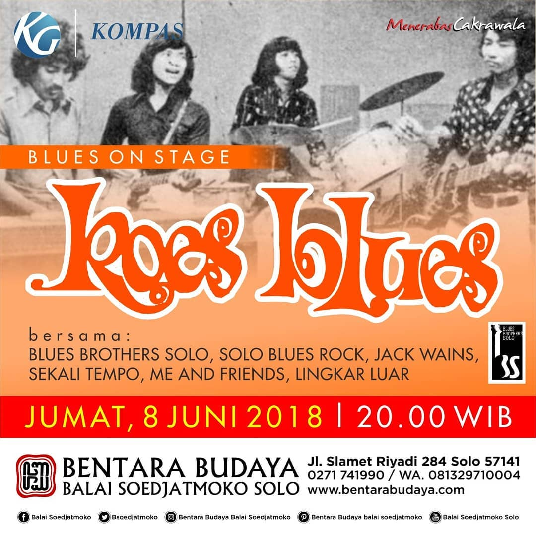 EVENT SOLO - BLUES ON STAGE KOES BLUES