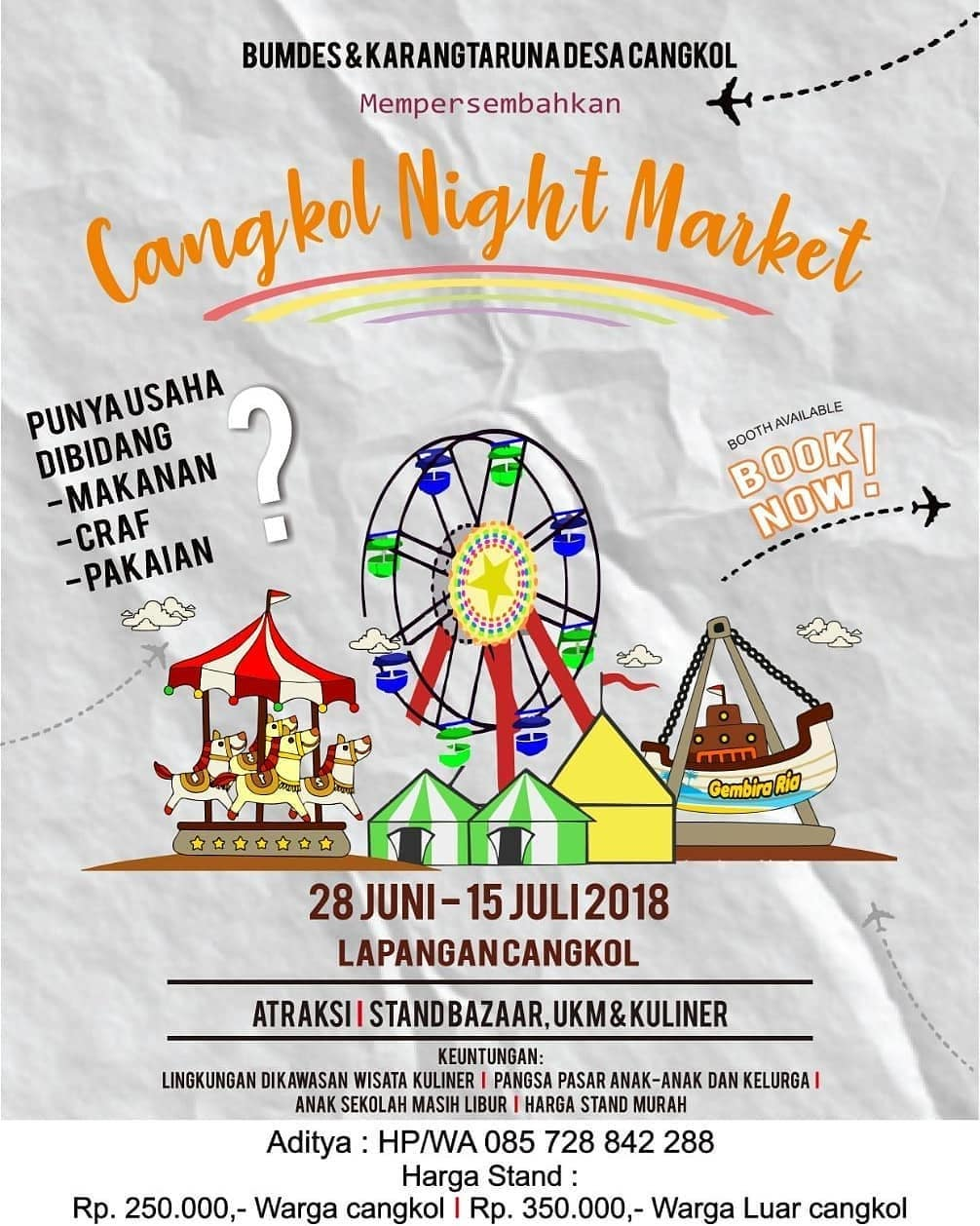 EVENT SOLO - CANGKOL NIGHT MARKET