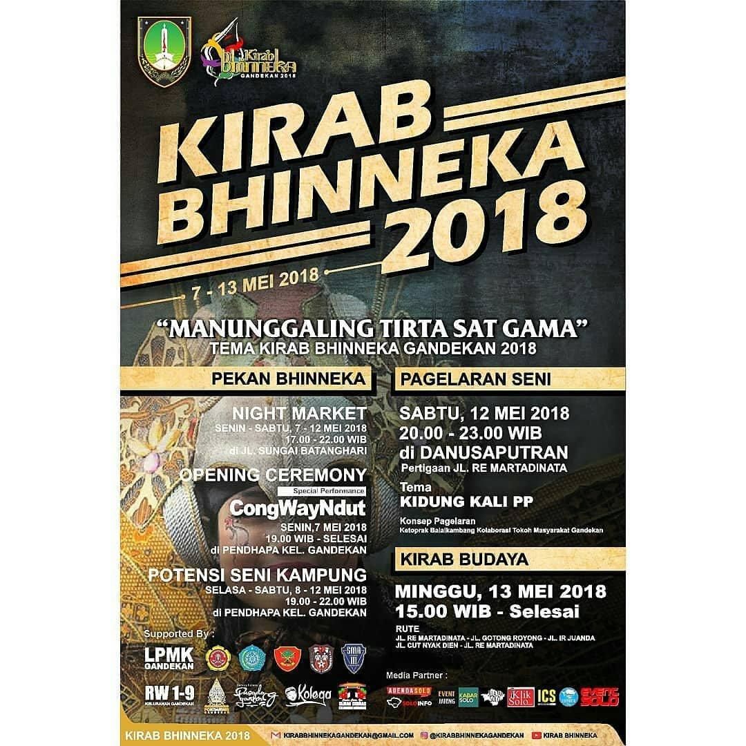 EVENT SOLO - KIRAB BHINNEKA 2018