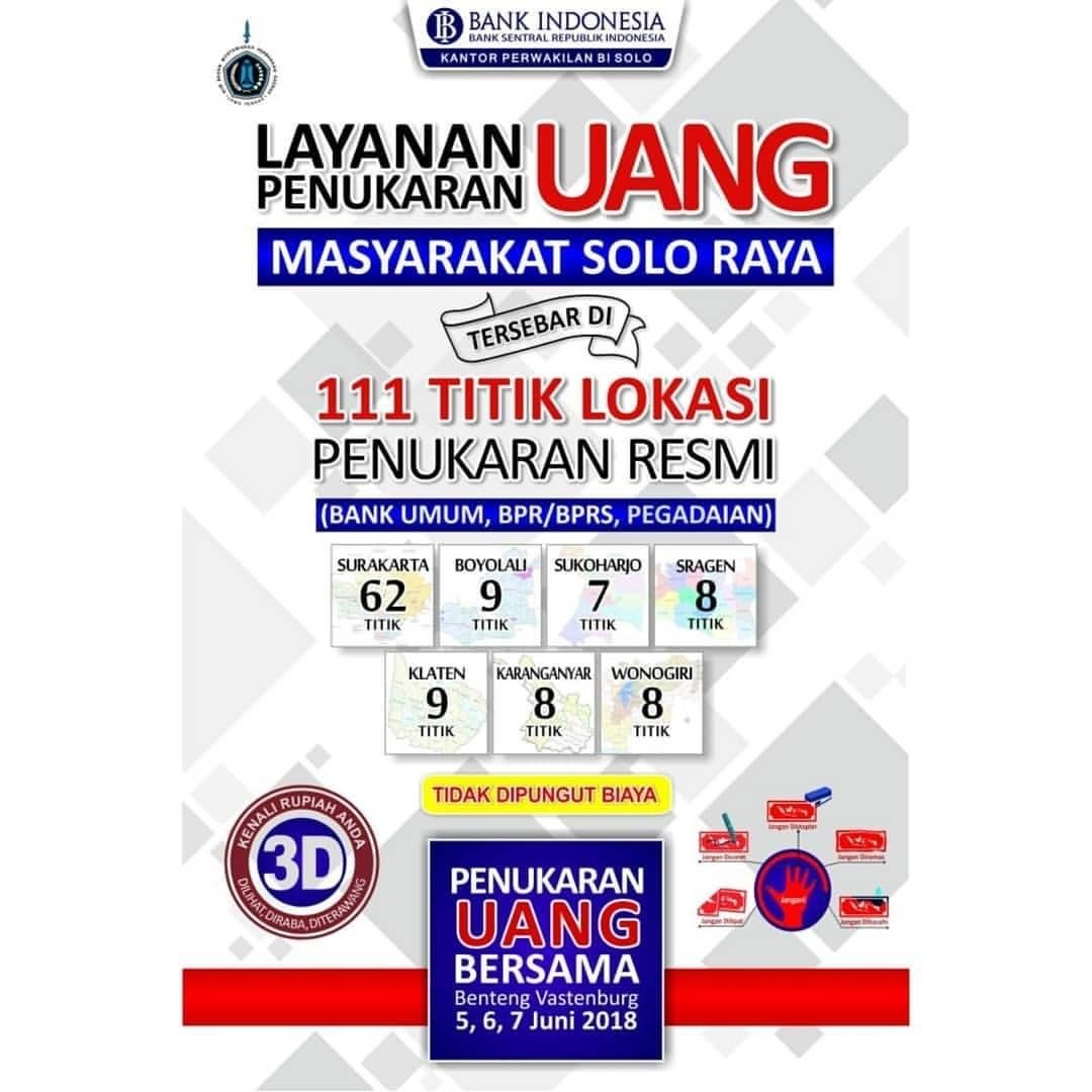 EVENT SOLO - LAYANAN TUKAR UANG