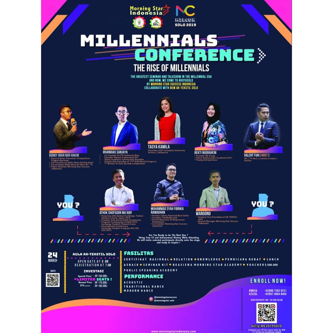 EVENT SOLO - MILLENNIALS CONFERENCE