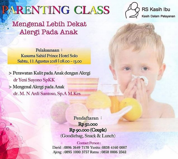 EVENT SOLO - PARENTING CLASS