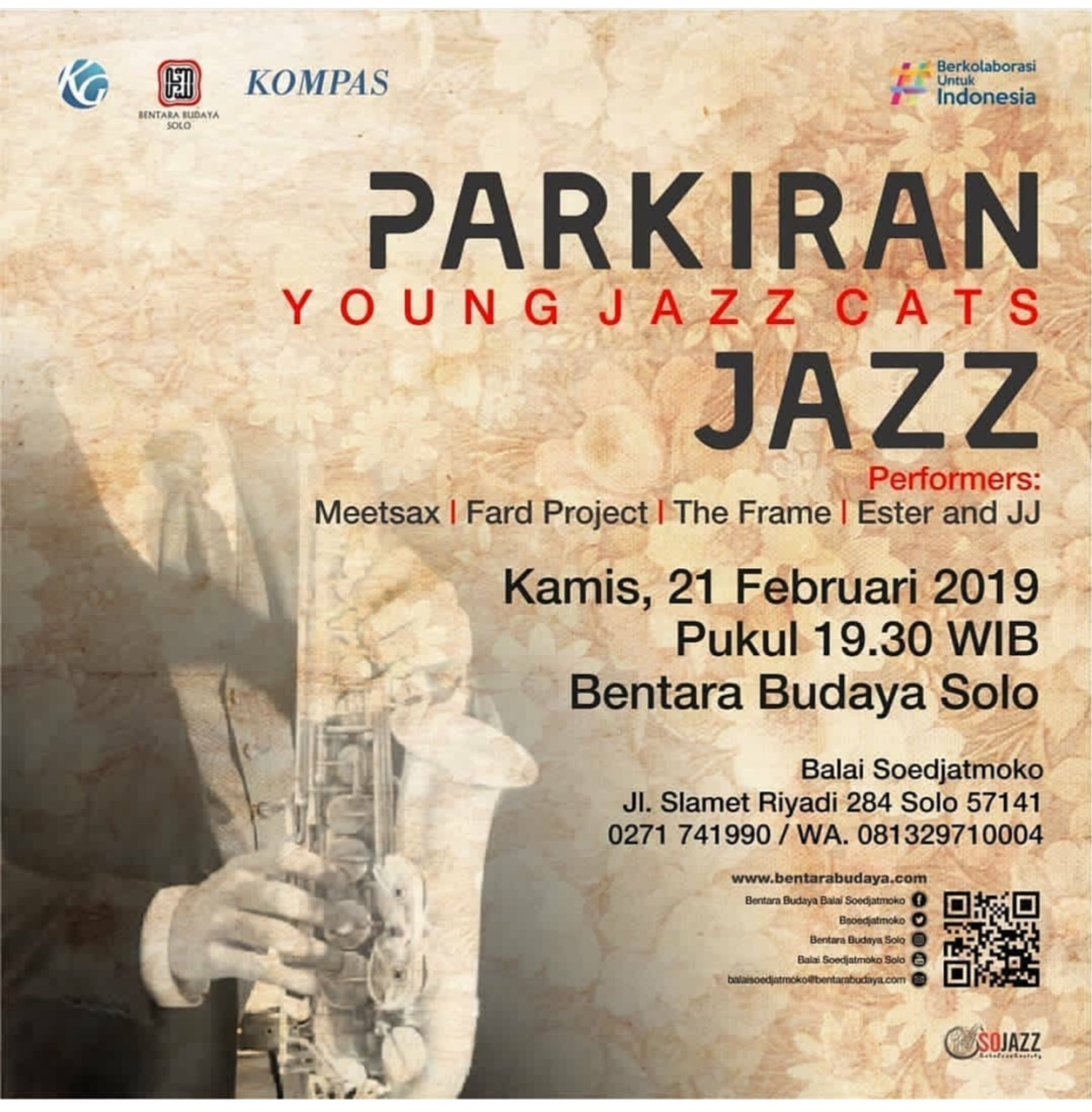 EVENT SOLO - PARKIRAN YOUNG JAZZCATS 2019