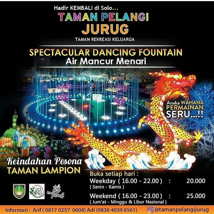 Event Solo - Spectacular Dancing Fountain