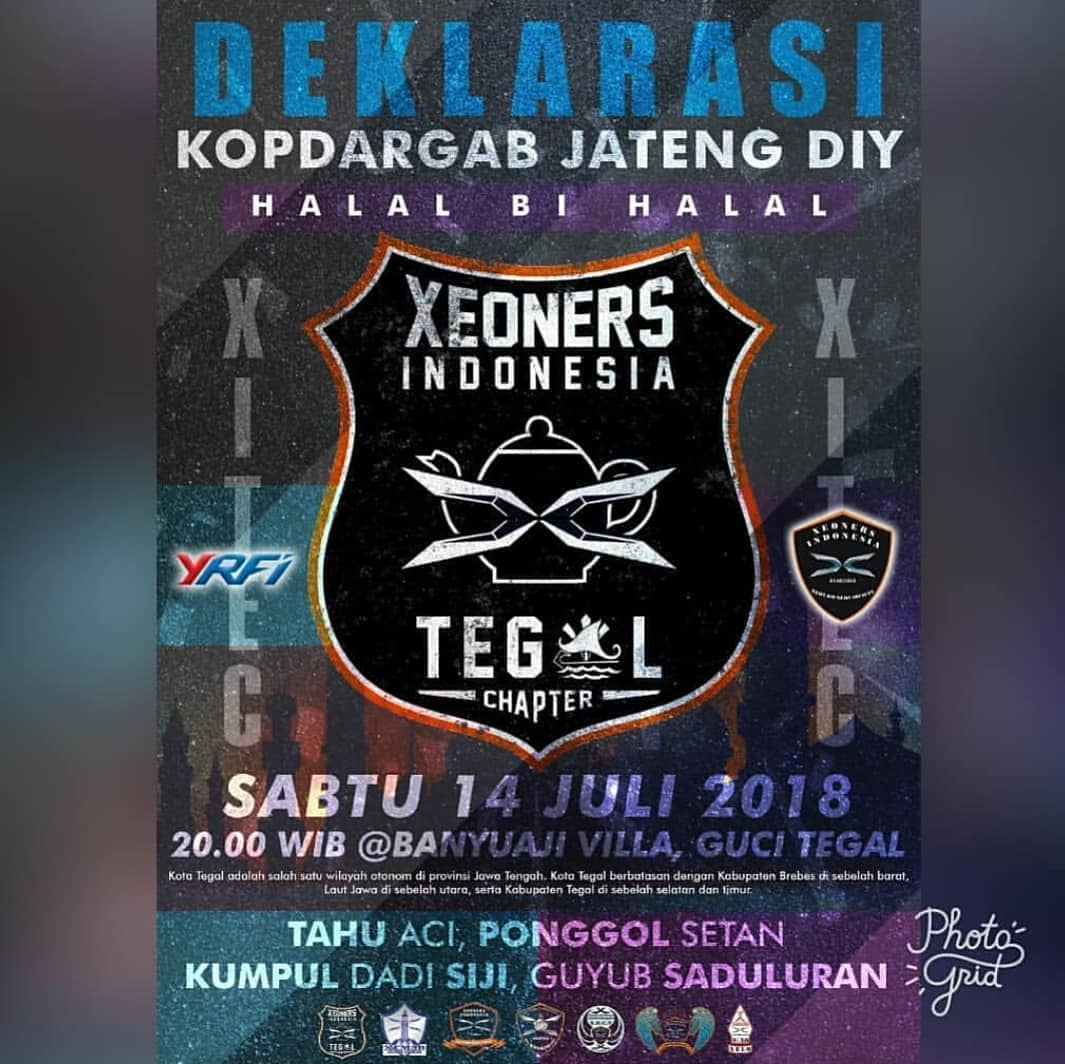 Event Tegal - Alal Bi Halal Xeoners Indonesia Tegal Chapter