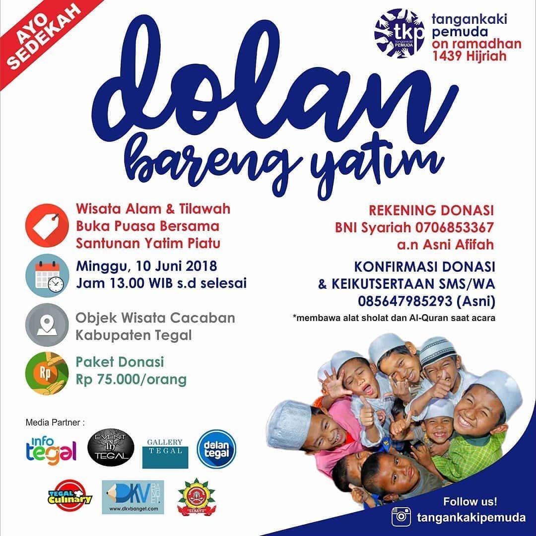 EVENT TEGAL - DOLAN BARENG YATIM