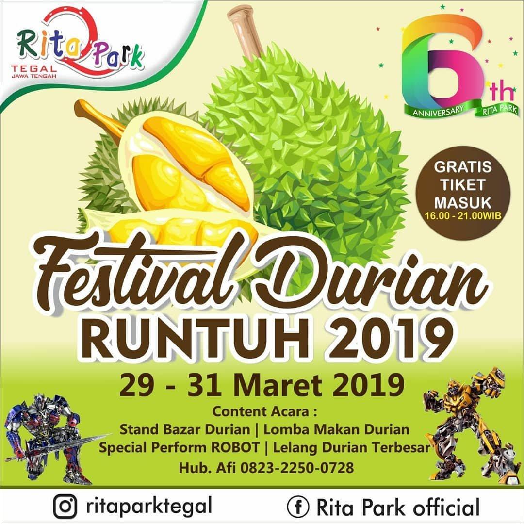 Event Tegal - Festival Durian Runtuh 2019