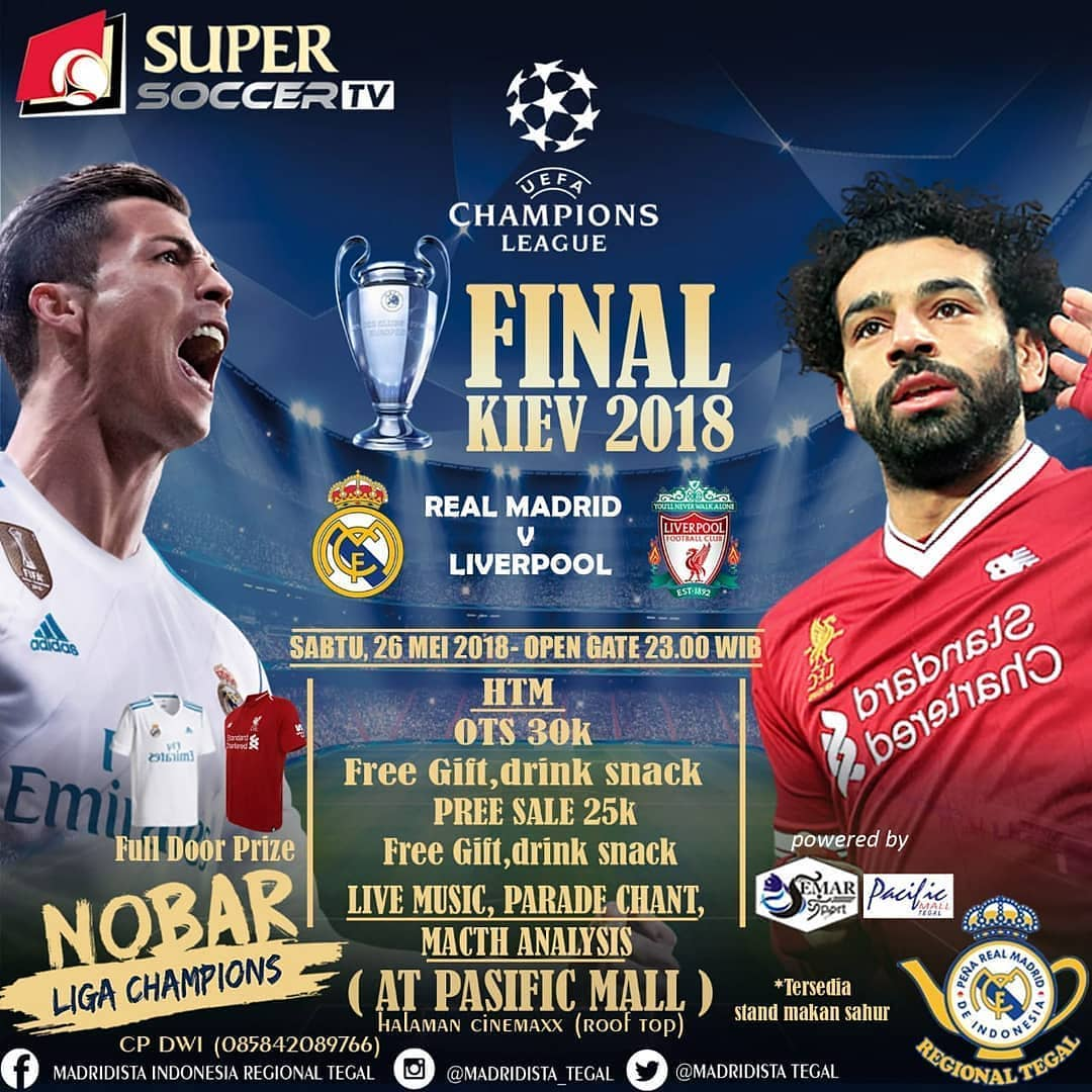 Event Tegal - Nonton Bareng Final Liga Champions