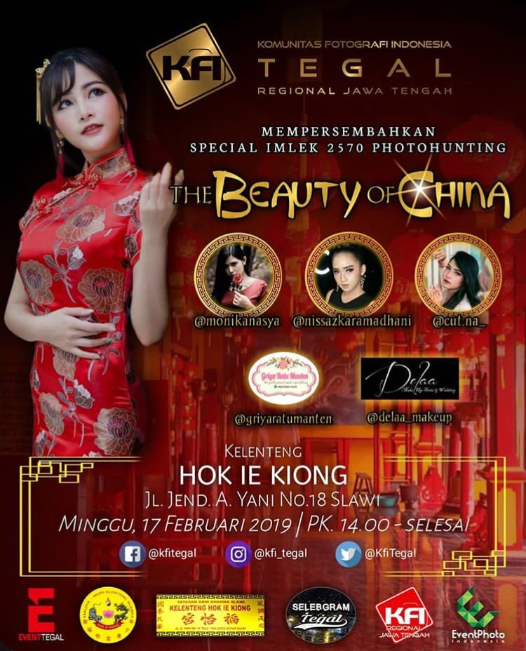 Event Tegal - Special Imlek 2570 Photohunting The Beauty Of China