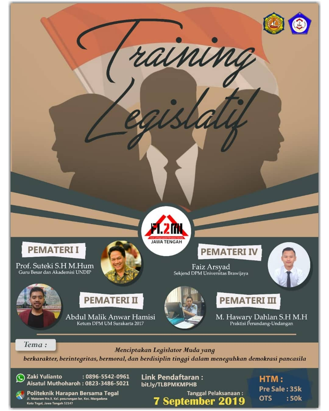 Event Tegal : Training Legislatif