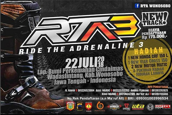 Event Wonosobo - Ride The Adrenaline 3