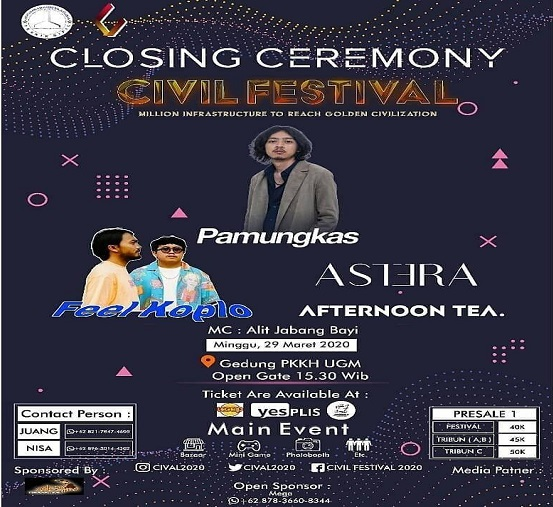 EVENT YOGYAKARTA : CIVIL FESTIVAL X PAMUNGKAS