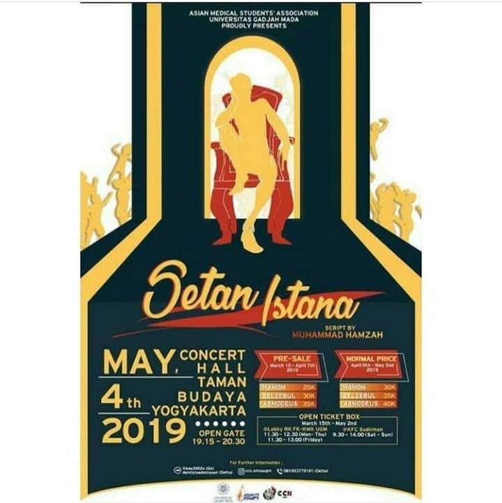 Event Yogyakarta - Setan Istana