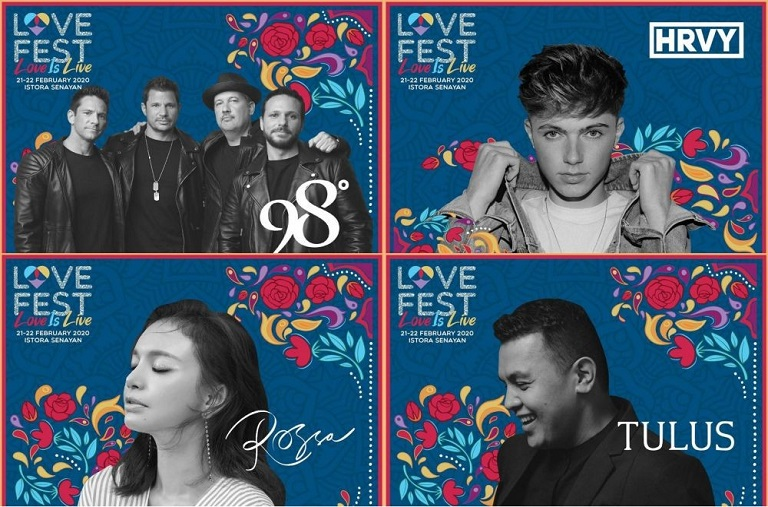 EVENTS JAKARTA : LOVE FEST X HRVY X SUN RAI  AND MANY MORE