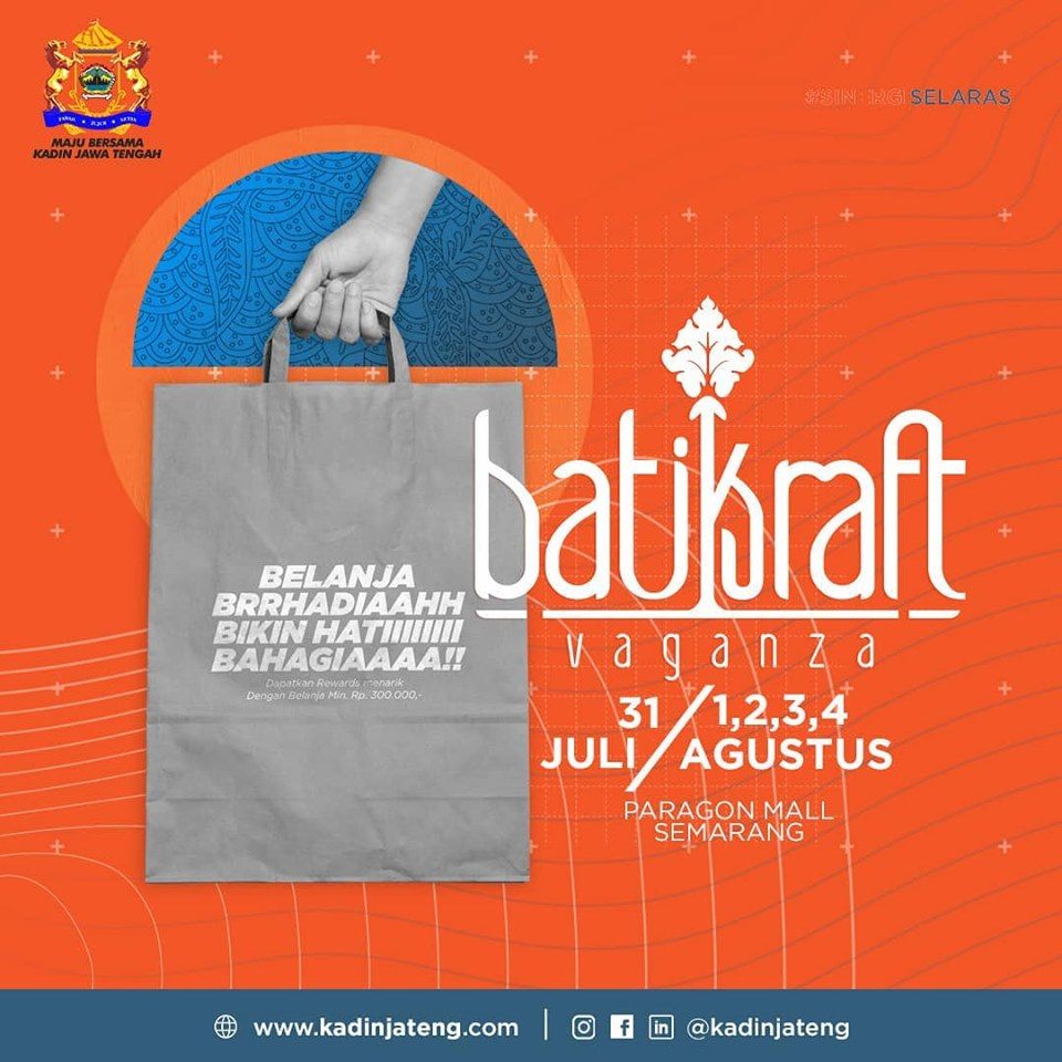 EVENTS SEMARANG : BATIKRAFT VAGANZA KE 7