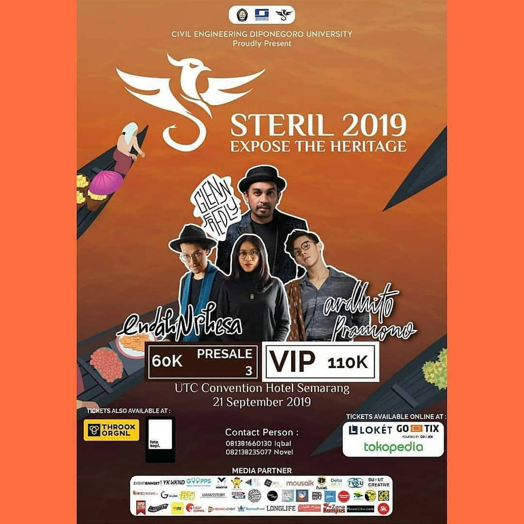Events Semarang : Civil Engineering Diponegoro University Proudly Present Steril 2019 Expose The Heritage