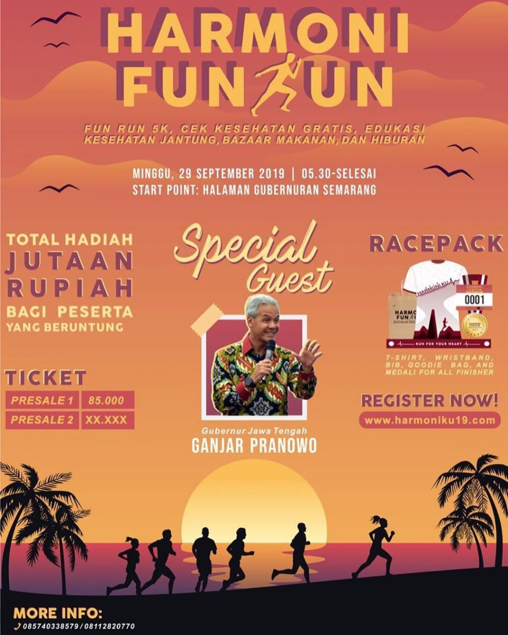 Events Semarang : Harmoni Fun Run 2019