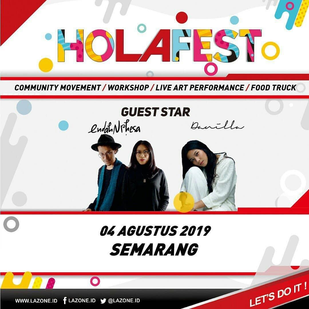 Events Semarang : Holafest