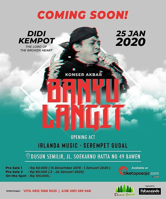 Jateng Live Event Events Semarang Konser Akbar Banyu Langit