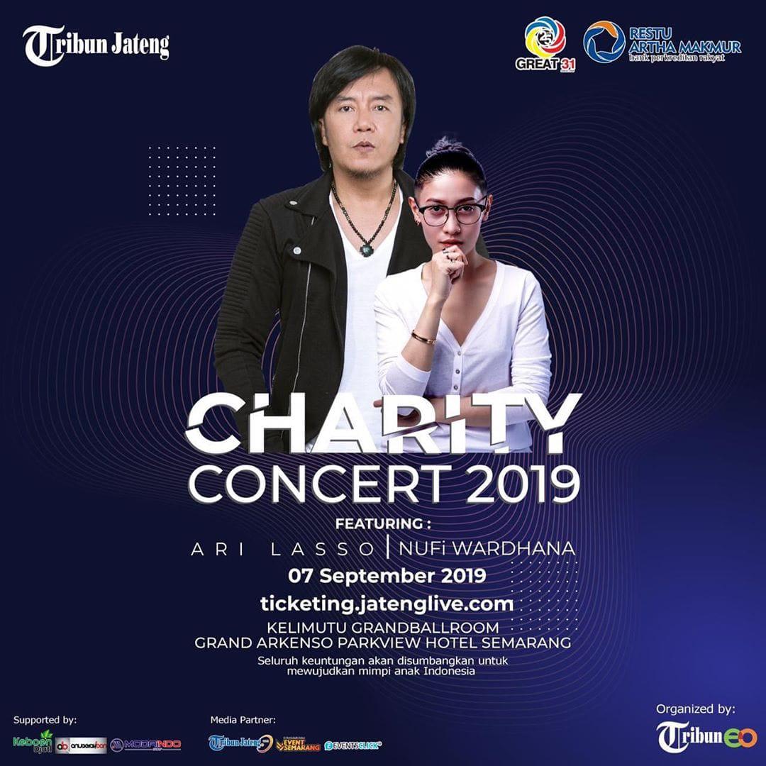Events Semarang : Tribun Jateng Charity Concert 2019
